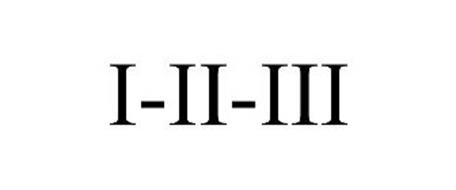 I-II-III