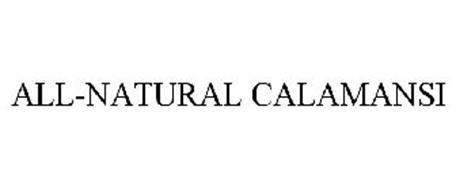 ALL-NATURAL CALAMANSI