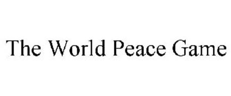 THE WORLD PEACE GAME