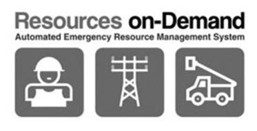 RESOURCES ON-DEMAND AUTOMATED EMERGENCY RESOURCE MANAGEMENT SYSTEM
