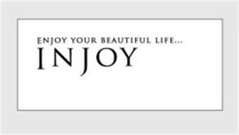 ENJOY YOUR BEAUTIFUL LIFE...INJOY