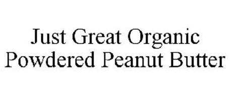 JUST GREAT ORGANIC POWDERED PEANUT BUTTER