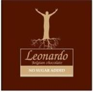 LEONARDO BELGIAN CHOCOLATE NO SUGAR ADDED