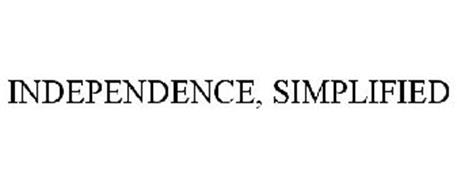 INDEPENDENCE, SIMPLIFIED