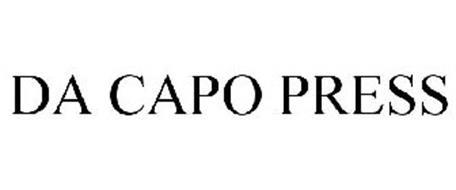 DA CAPO PRESS