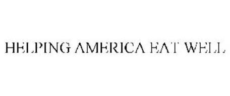 HELPING AMERICA EAT WELL