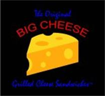 THE ORIGINAL BIG CHEESE GRILLED CHEESE SANDWICHES