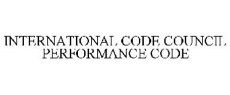INTERNATIONAL CODE COUNCIL PERFORMANCE CODE
