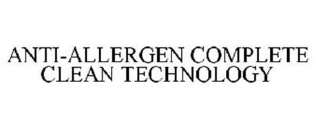 ANTI-ALLERGEN COMPLETE CLEAN TECHNOLOGY