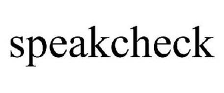 SPEAKCHECK