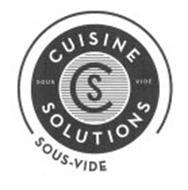 CS CUISINE SOLUTIONS SOUS VIDE SOUS-VIDE