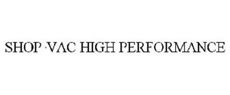 SHOP·VAC HIGH PERFORMANCE