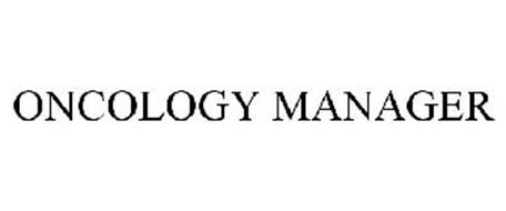 ONCOLOGY MANAGER
