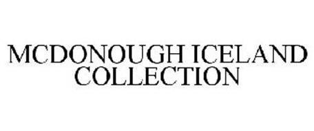 MCDONOUGH ICELAND COLLECTION