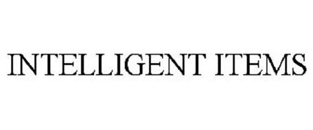 INTELLIGENT ITEMS