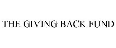 THE GIVING BACK FUND