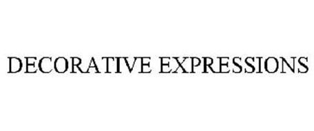 DECORATIVE EXPRESSIONS