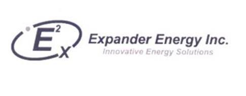 E2X EXPANDER ENERGY INC. INNOVATIVE ENERGY SOLUTIONS