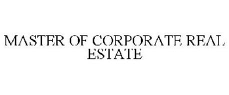 MASTER OF CORPORATE REAL ESTATE