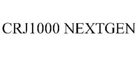 CRJ1000 NEXTGEN