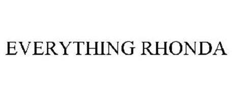 EVERYTHING RHONDA
