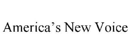 AMERICA'S NEW VOICE
