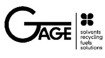 GAGE SOLVENTS RECYCLING FUELS SOLUTIONS