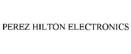 PEREZ HILTON ELECTRONICS
