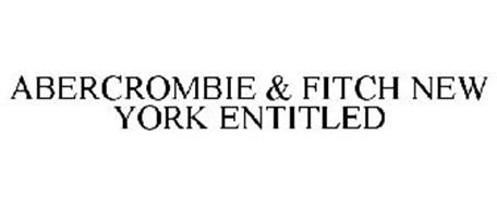 ABERCROMBIE & FITCH NEW YORK ENTITLED