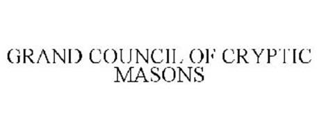 GRAND COUNCIL OF CRYPTIC MASONS