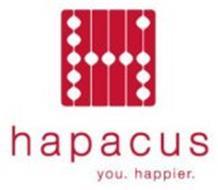 H H A P A C U S YOU. HAPPIER.