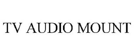 TV AUDIO MOUNT