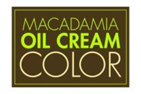 MACADAMIA OIL CREAM COLOR
