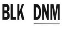 BLK DNM