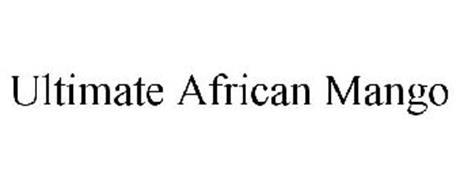 ULTIMATE AFRICAN MANGO