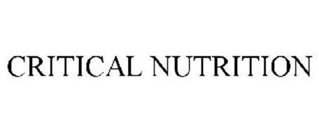 CRITICAL NUTRITION