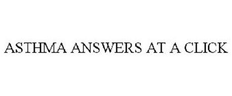 ASTHMA ANSWERS AT A CLICK