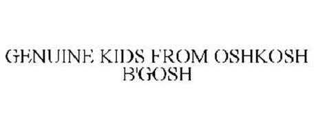 GENUINE KIDS FROM OSHKOSH B'GOSH
