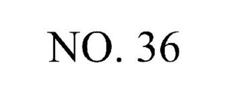 NO. 36