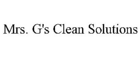 MRS. G'S CLEAN SOLUTIONS