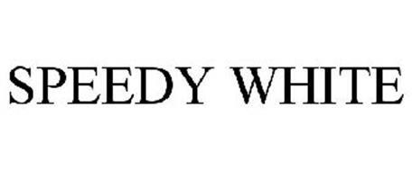 SPEEDY WHITE