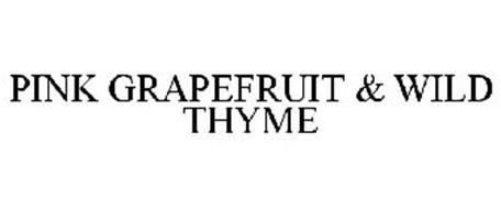PINK GRAPEFRUIT & WILD THYME