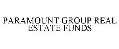 PARAMOUNT GROUP REAL ESTATE FUNDS