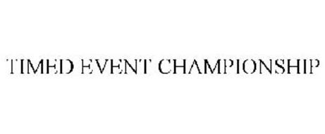 TIMED EVENT CHAMPIONSHIP