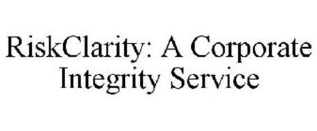 RISKCLARITY: A CORPORATE INTEGRITY SERVICE