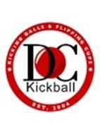 DC KICKBALL KICKING BALLS & FLIPPING CUPS EST. 2004