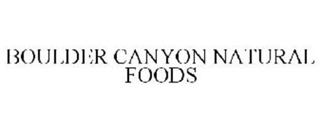 BOULDER CANYON NATURAL FOODS