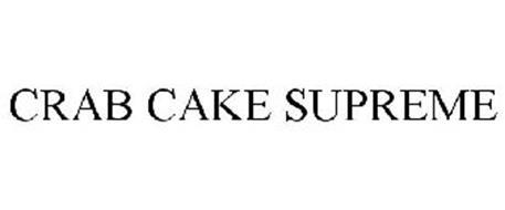 CRAB CAKE SUPREME