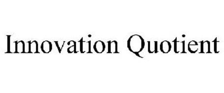 INNOVATION QUOTIENT