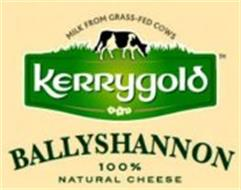 MILK FROM GRASS-FED COWS KERRYGOLD BALLYSHANNON 100% NATURAL CHEESE